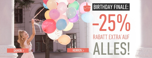 25% Rabatt auf alles bei dress for less + 10€ Newslettergutschein