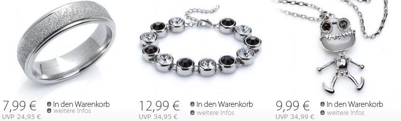Silvity.de Sale mit bis zu 80% Rabatt + 5€ Gutschein + keine Versandkosten