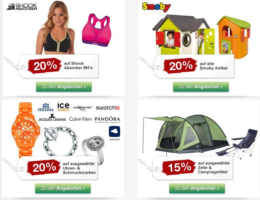 Galeria Sonntags Highlight – Reduzierte Campingartikel, Smoby Spielhäuser ...uvm.