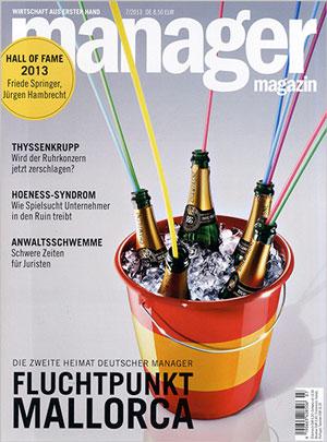 Manager Magazin 1 Jahr lang lesen für nur 10€