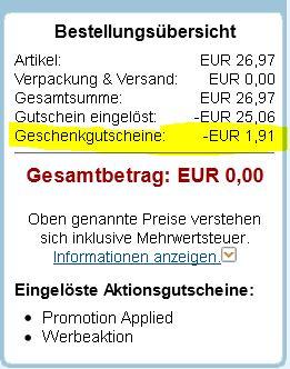 Amazon Systemfehler? 3 Blu rays für 1,91€  Update!