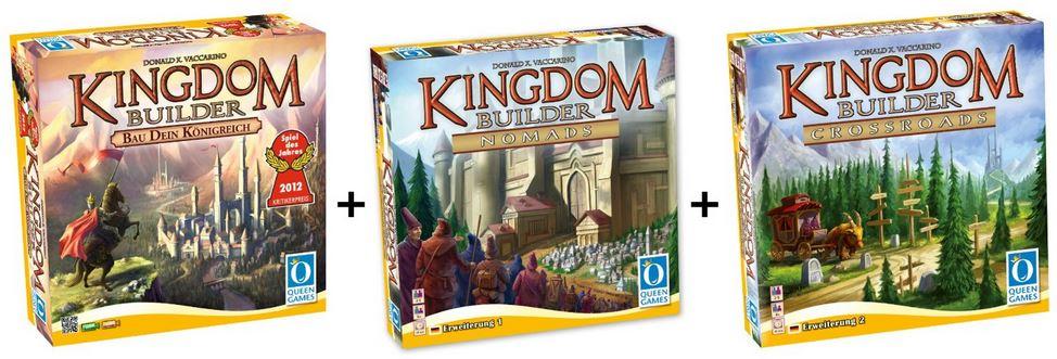 Queen Games   Kingdom Builder, Fossil Uhr und mehr Amazon Blitzangebote