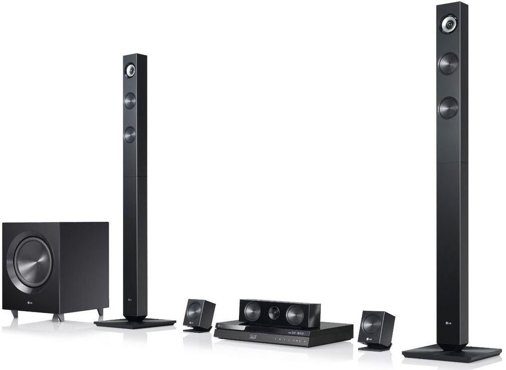 LG BH7420P   3D Blu ray 5.1 Heimkinosystem für 259€ (Vergleich 340€)