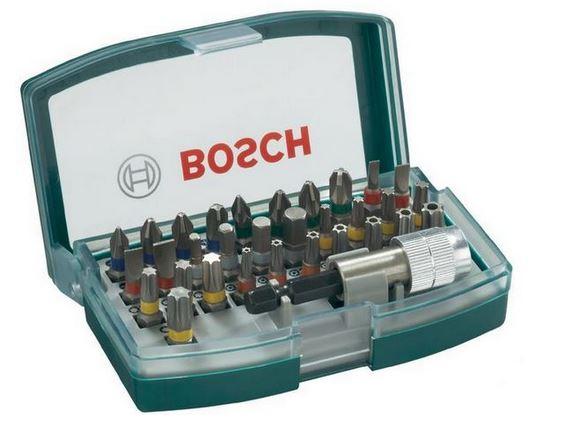 Bosch 32 tlg. Schrauberbit Set für 0,90€   Dank Gutschein Morgen vor Ort bei Conrad!