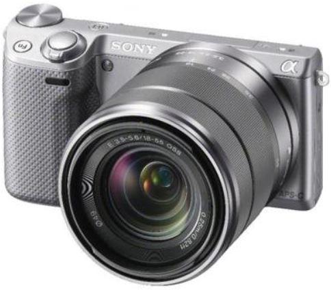 Sony Alpha NEX 5RKS mit 18 55mm Objektiv für 417€