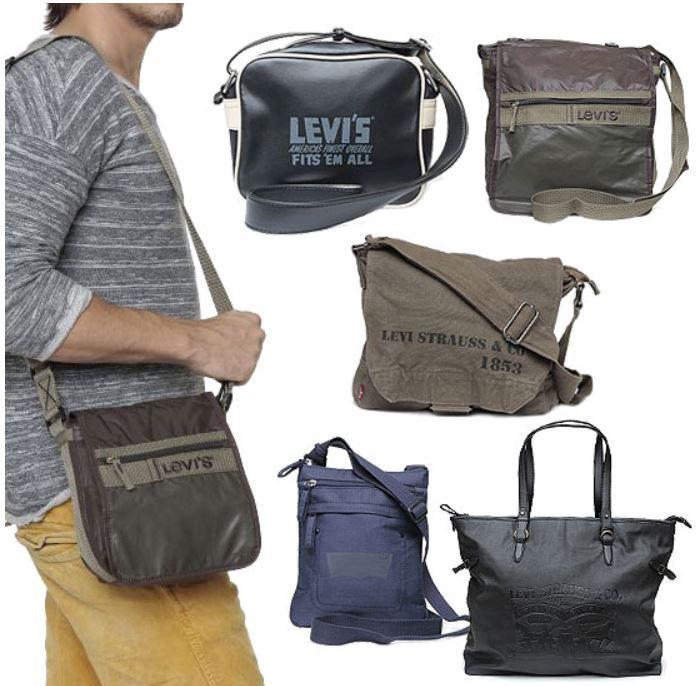 LEVIS Unisex Schultertaschen, Bag etc. für je 24,95€