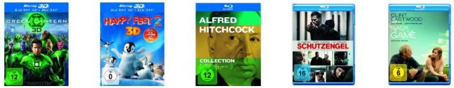 Neue Amazon DVD und Blu ray Blitz Angebote   Update