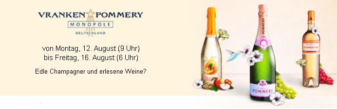 POMMERY SALE mit Champagner und Weinen bei Vente Privee