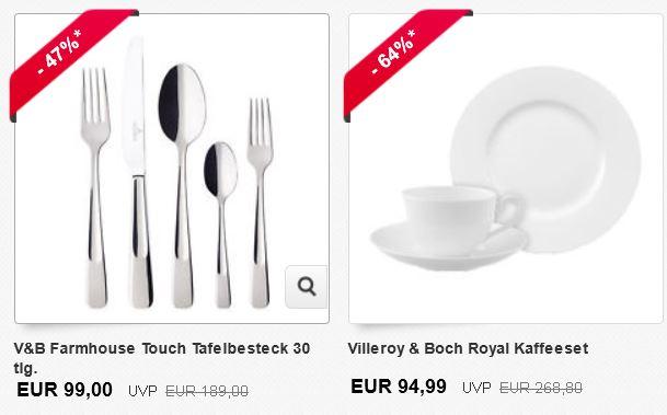 Kleiner Villeroy & Boch Sale bei ebay!