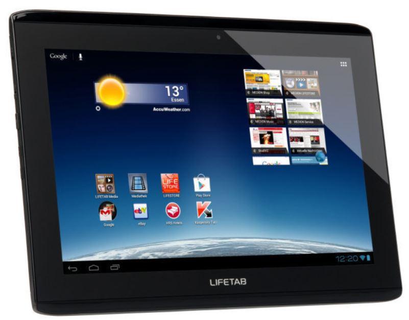 Medion LifeTab S9714   10Tablet PC mit 32GB WLAN 3G Quad Core für 222€   wieder da!