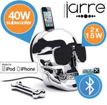 Jarre Technologies   Aeroskull Lautsprecher mit 70 W und Bluetooth für 235,90€