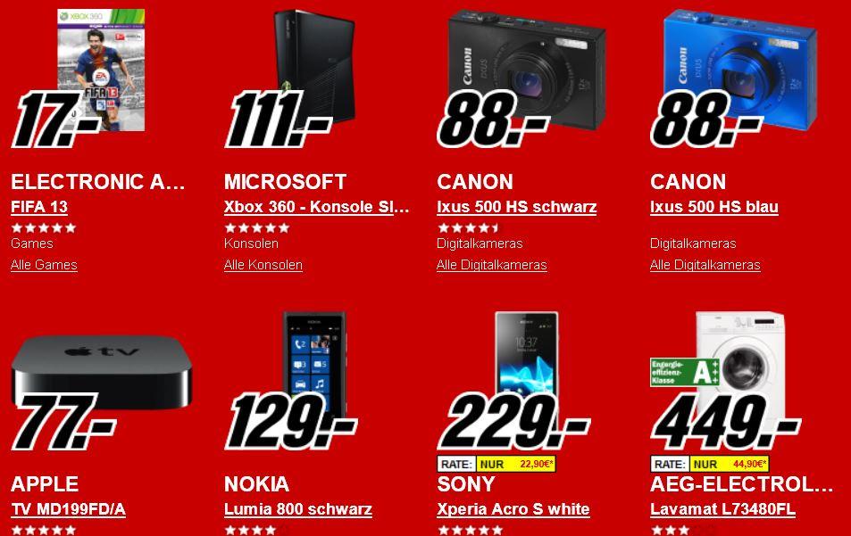 NOKIA Lumia 800 für 129€ und mehr beim Rausverkauf im Media Markt Onlineshop!