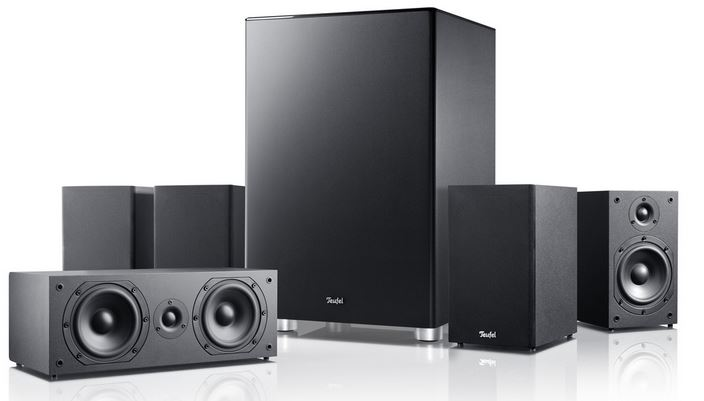 Teufel Viton 51 Mk2   5.1 Lautsprecher Set für 299,99€