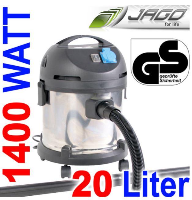 Jago NSTRSG01   1400 Watt Industrie Staubsauger für 49,90€