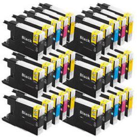 XXL Druckerpatronen satt! Für Epson, Canon und Brother Drucker   30er Pack je 16,99€