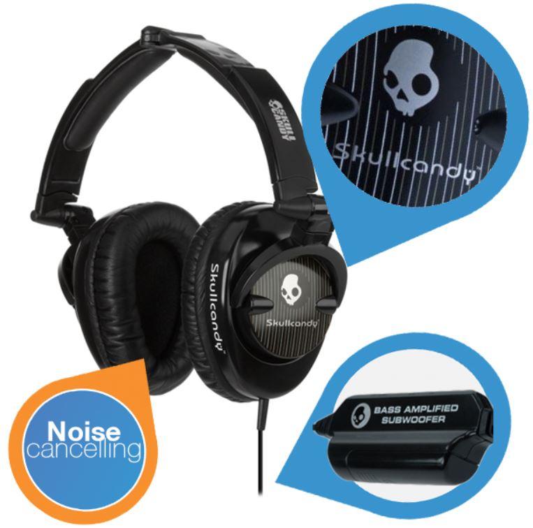 Skullcandy Skullcrusher Kopfhörer mit Bass Modul für 35,90€