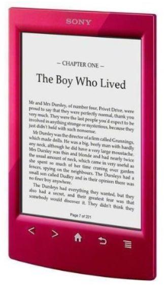 Preisfehler? SONY E Book Reader PRS T2 mit Harry Potter + Transporthülle PRSA CL22 für 66,95€