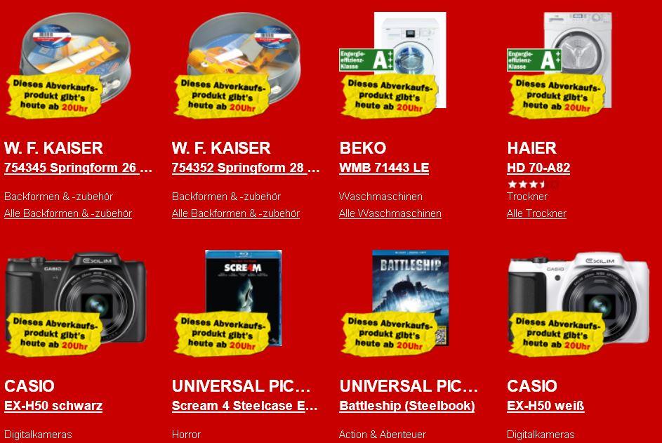 Sony NWZ E 474 MP3 Player für 55€ und mehr beim Rausverkauf im Media Markt Onlineshop!