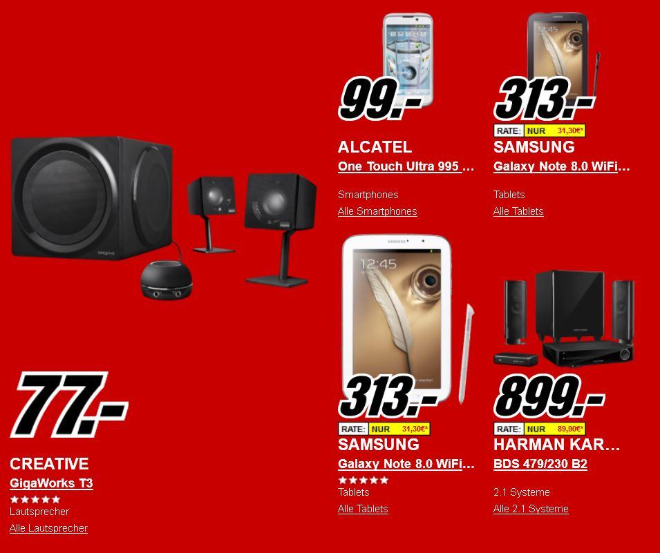 TOSHIBA STOR.E Plus 1TB für 49€ & HARMAN KARDON Heimkinoanlage für 899€ und mehr beim Media Markt Onlineshop!