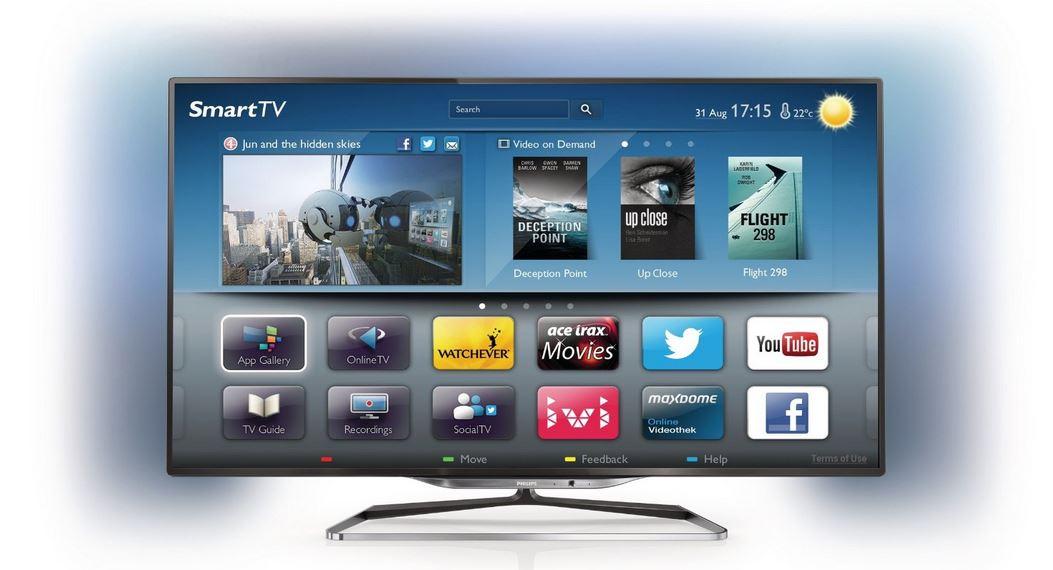 Philips 32PFL5018K/12   32 Zoll 3D WLan Smart TV mit Ambilight für 529€