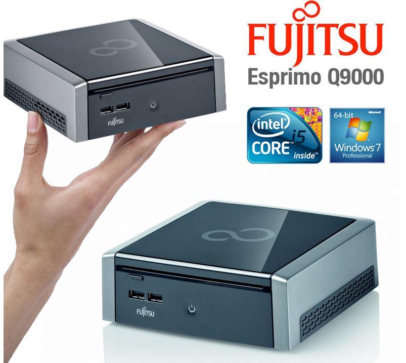 Fujitsu ESPRIMO Q9000, mini PC mit Core i5 520M 2,4GHz 4GB RAM 160GB für 279€