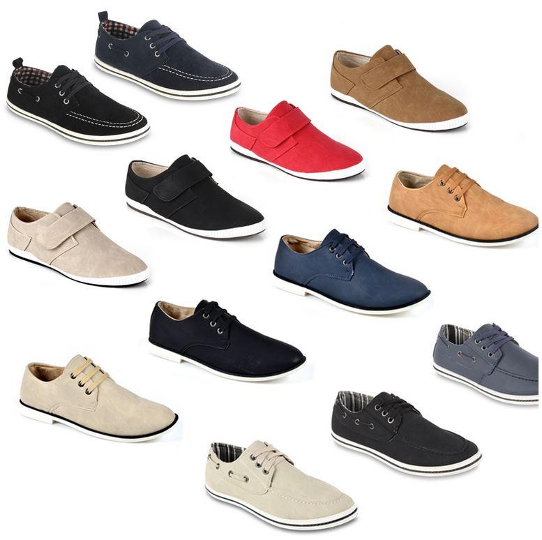 Casual Sneakers für Herren, je Paar 16,90€
