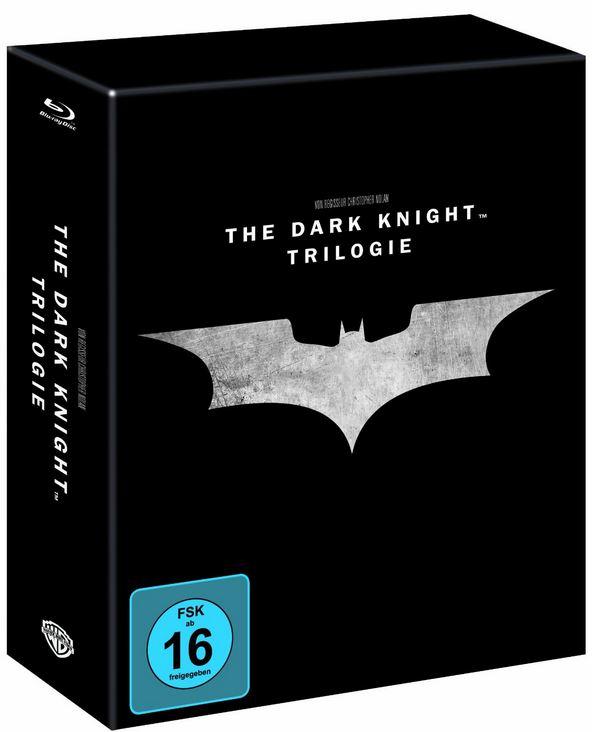 The Dark Knight Trilogy Steelbook für 39,97€ und mehr Amazon Blu ray und DVD Angebote der Woche