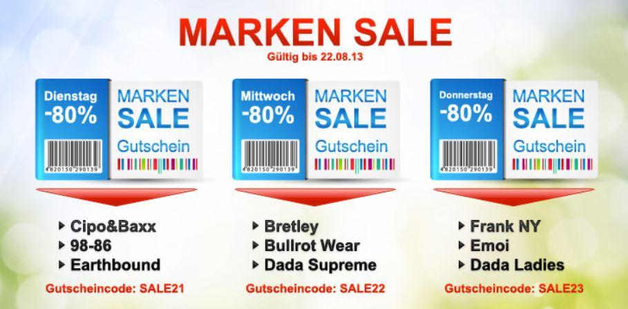 Cipo & Baxx, 98 86 und Earthbound   Marken Sale mit 80% Rabatt + 10€ Gutschein nur heute! Update!