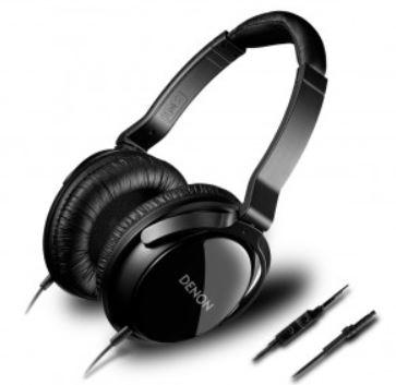 Denon AH D310R   On Ear Kopfhörer mit 3 Tasten Fernbedienung + Mikrofon für 15,99€   Update