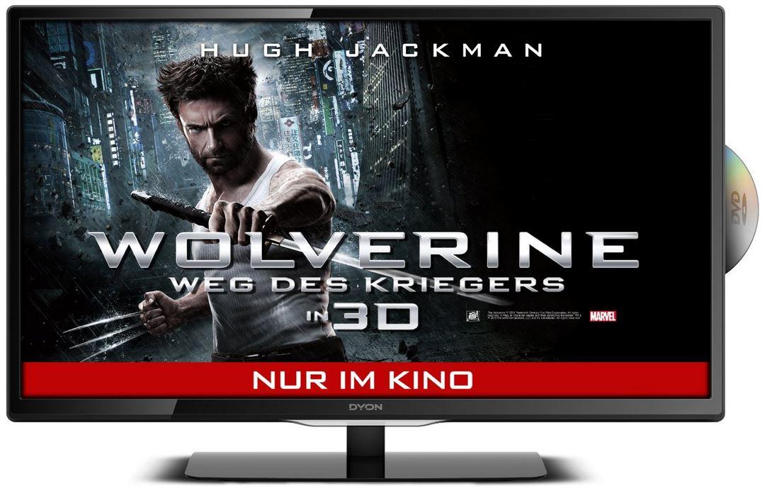 Dyon TAV 28 Basic Edition   28Zoll TV mit eingebauten DVD Player für 199,99€