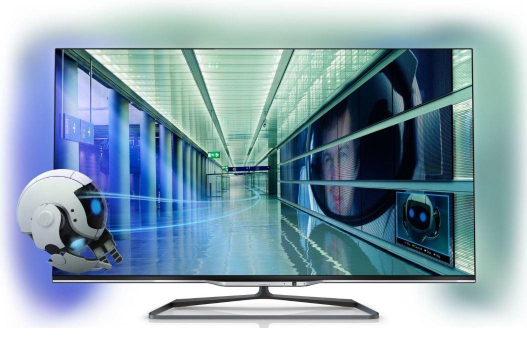 Philips 55PFL7008K/12   55Zoll 3D Ambilight WLan Smart TV für 1.499€