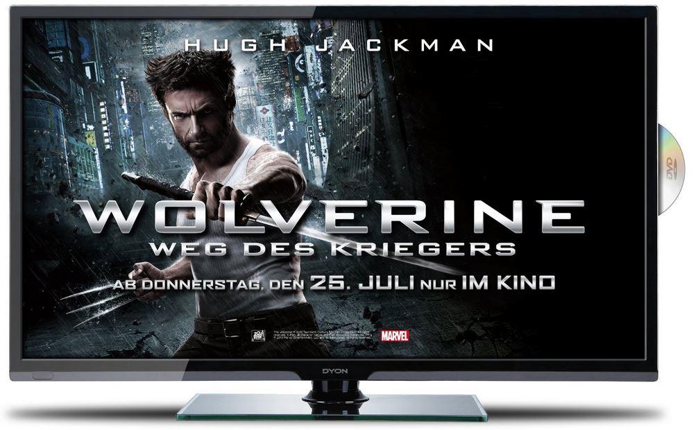 Dyon Sigma 32+   32Zoll TV mit eingebauten DVD Player für 249€