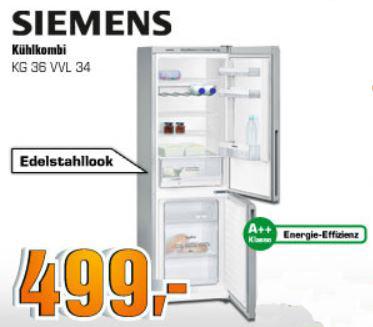 APPLE Mac mini MD387D/A, SIEMENS KG36VVL34 Kühlgefrierkombination für je 499€ und mehr SATURN SUPER SUNDAY Angebote   Update