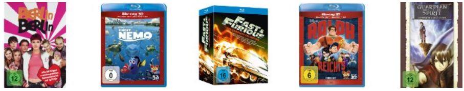 Fast & Furious 1 5   The Blu ray Collection Box für 19,97€ und mehr Filme in den Amazon Blitzangeboten