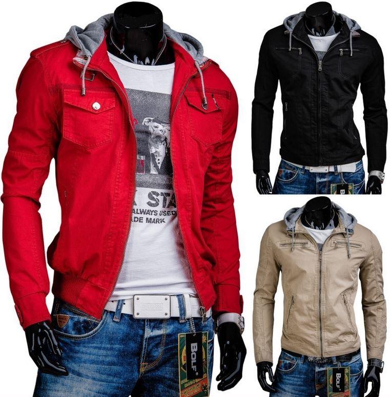 BOLF   verschiedene Herren Jacken für je 29,95€