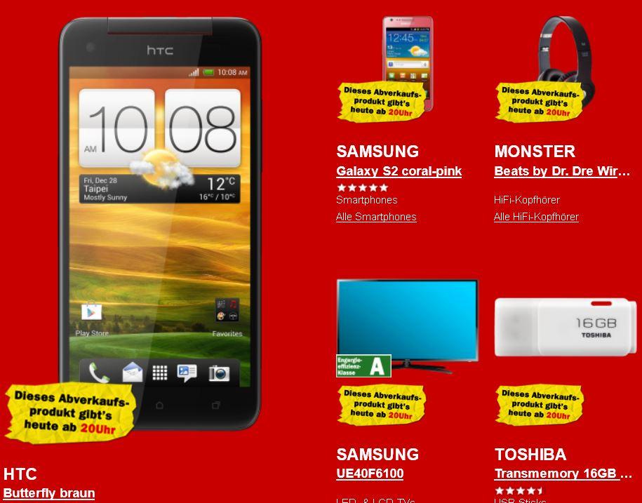 Nokia Lumia 800 für 129€ und mehr beim letzten Media Markt Rausverkauf!