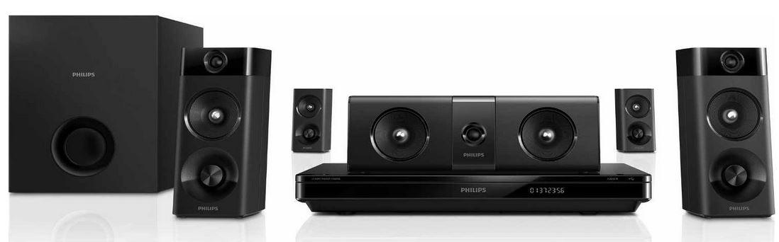 Philips HTB5510D/12   5.1 Entertainment System als Amazon Blitzangebot!