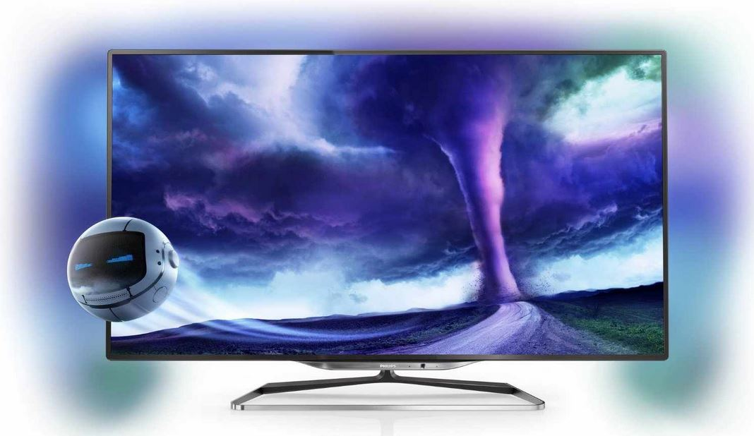 Philips 55PFL8008S/12   55Zoll Ambilight 3D WLan Smart TV für 1.749€