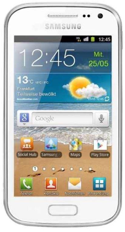 Samsung Galaxy Ace 2 Smartphone in weiß oder schwarz für je 149,90€