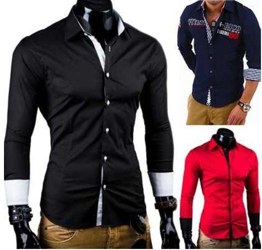 Carisma Behype   Slim Fit Herren Hemden für 19,95€