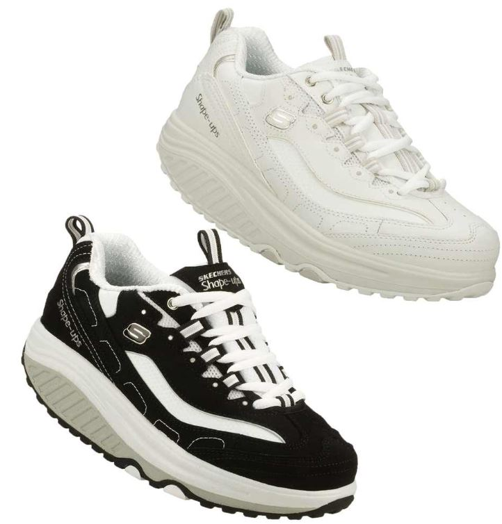 SKECHERS SHAPE UPS   Damen Fitness Schuhe für je Paar nur 23,99€
