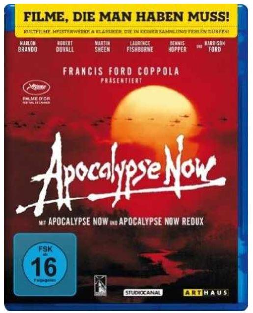 Apocalypse Now   Blu ray Kinofassung & Redux, Digital Remastered für nur 7,99€