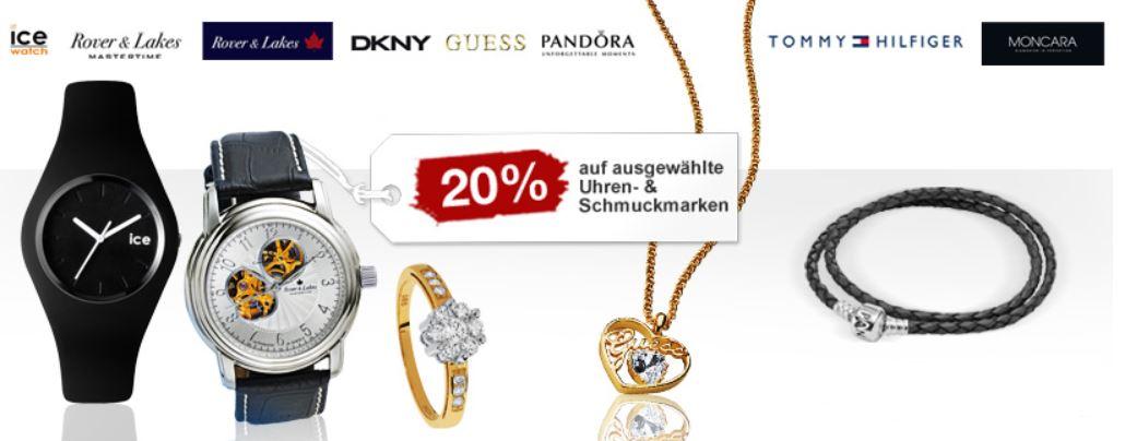 20% Rabatt auf ausgewählte Uhren & Schmuck und mehr Sonntagsangebote bei Galeria Kaufhof + 10% Gutscheincode! Update!