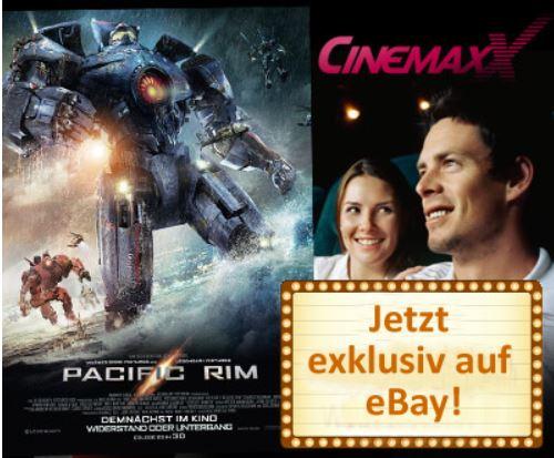 CinemaxX Gutscheine für 5 Kinotickets im Wert von 52,50€ für nur 29,90€   Update