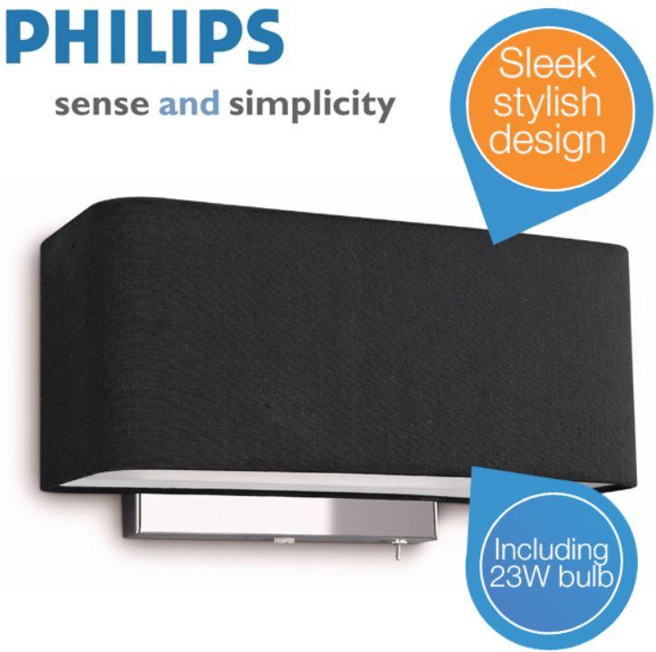Philips 36337   InStyle Wandleuchte für 55,90€