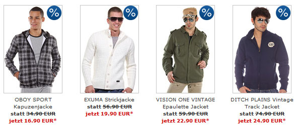 OBOY Sale   bis zu 75% Rabatt + 25€ Gutschein + keine Versandkosten