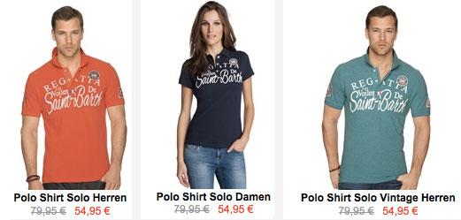 Gaastra Poloshirts für 39,57€ durch Gutscheincode   noch bis morgen