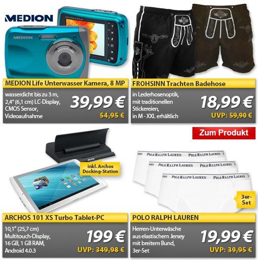 MeinPaket OHA WE Deals   ARCHOS 101 XS Turbo 10,1″ Tablet für 199€ ...und weitere