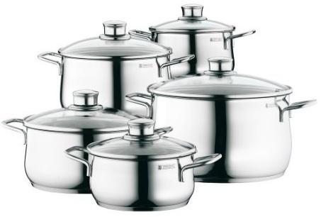 Update! WMF Diadem Plus für 99€   Kochgeschirr Set 6 teilig
