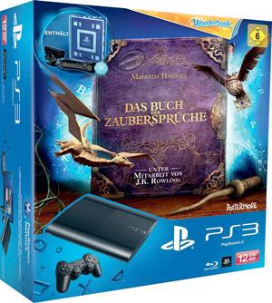 PlayStation3 mit Move Starter Kit und Wonderbook für 154,02€